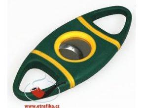 Joyaux ořezávač ovál - plast zelenožlutý
