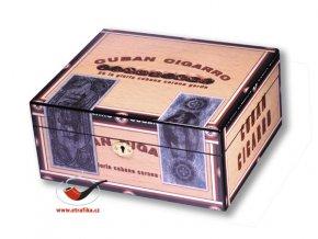 Doutníkový Humidor Angelo Cuba Cigarro