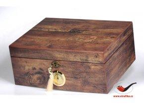 Doutníkový Humidor Antic Wood
