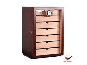 Doutníkový Humidor Cabinet Třešeň 150D