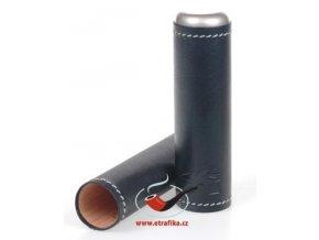 Kožené pouzdro na 1 doutník Xikar Black
