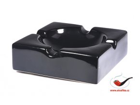 Doutníkový popelník Angelo na 4 doutníky černý