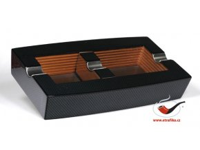 Doutníkový popelník Dřevo-Karbon