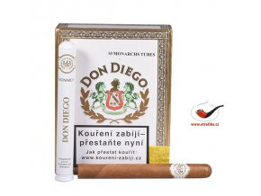Doutníky Don Diego Monarch Tube/10