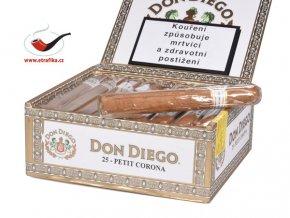 Doutníky Don Diego Petit Corona/25