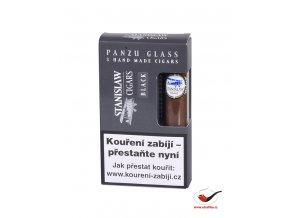 Doutníky Stanislaw Glass Black Line Panzu/3