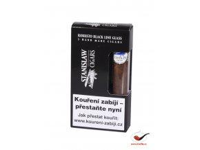 Doutníky Stanislaw Glass Black Line Robusto/3