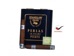 Stanislaw Vintage Blue Perlas/10