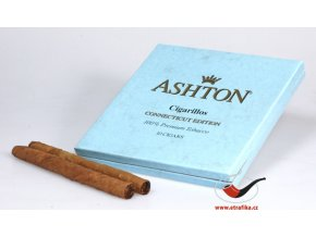 Doutníky Ashton Small BLUE Cigarillo/10