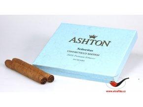 Doutníky Ashton Small BLUE Senoritas/10