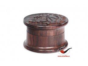 Drtič tabáku Buldog dřevěný