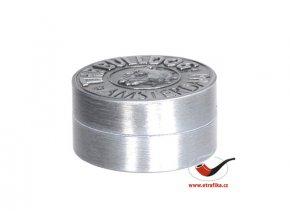 Drtič tabáku Buldog kovový 2-dílný