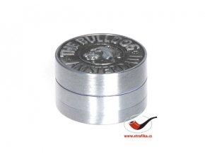 Drtič tabáku Buldog kovový 3-dílný