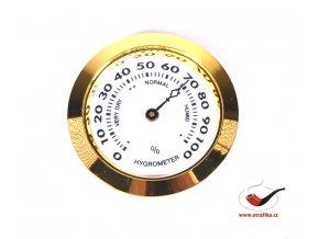 Vlhkoměr Angelo 35mm zlatý