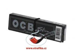 Cigaretové papírky OCB Slim Premium s filtry