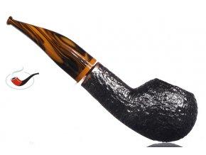 Dýmka Savinelli Tigre Rusticated Black 321