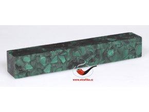 Akrylová tyč malá TW Green Crushed Velvet 28