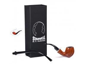 Dýmka Stanwell HC Andersen Light Brown 7