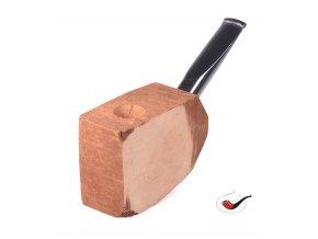 Přířez na výrobu dýmky s náustkem bent akryl 25