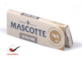 Cigaretové papírky Mascotte Extra Thin Organics
