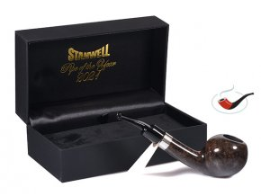 Dýmka Stanwell Pipe of The Year 2021 Black Flame Grain