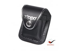 Kožená kapsička na zapalovač Zippo černá