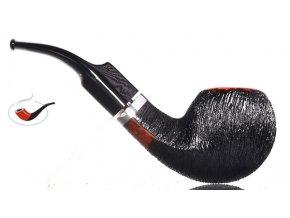 Dýmka Stanwell Brushed Black Rustic 15