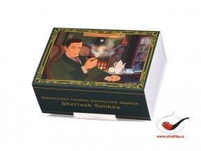 Dýmkové zápalky Solo Sherlock Holmes Limitovaná edice Set 06
