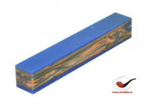 Akrylová tyč malá TW Blue Orange sandwich 127