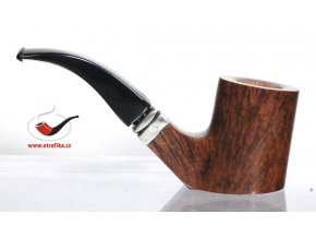 Dýmka L'Anatra Brown Sterling Poker Bent