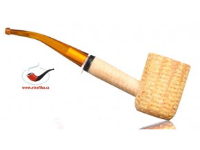 Dýmka Missouri Corn Cob Pipes bent - pot
