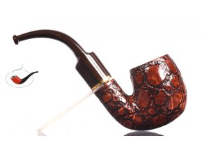 Dýmka Savinelli Alligator Brown 614
