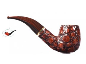 Dýmka Savinelli Alligator Brown 616