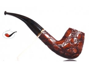 Dýmka Savinelli Alligator Brown 628