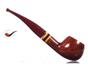 Dýmka Savinelli Fantasia Regimental Smooth Burgundy 315
