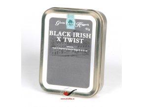 Dýmkový tabák Gawith Hoggarth Black Irish X Twist/50
