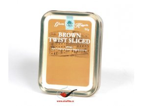 Dýmkový tabák Gawith Hoggarth Brown Twist Sliced/50