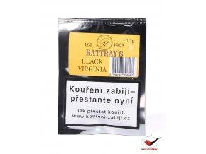 Dýmkový tabák Rattrays Black Virginia/10