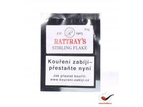 Dýmkový tabák Rattrays Stirling Flake/10