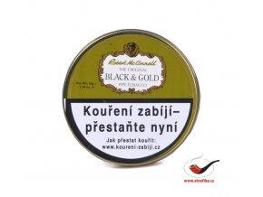 Dýmkový tabák Robert McConnell Black and Gold/50