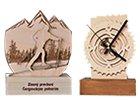 Trofeje z dreva