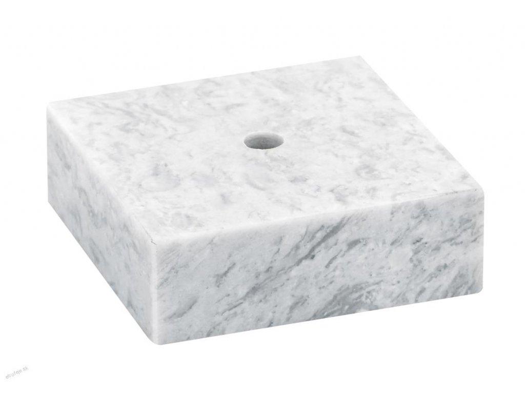 podstavec 55x55x30 biely