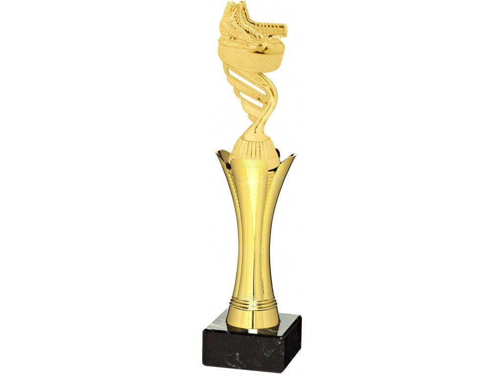 trofej - figúrka hokej 1121+F423 , h29cm