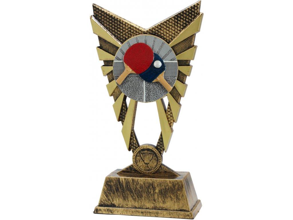 trofej X840013 stolný tenis  h 23cm
