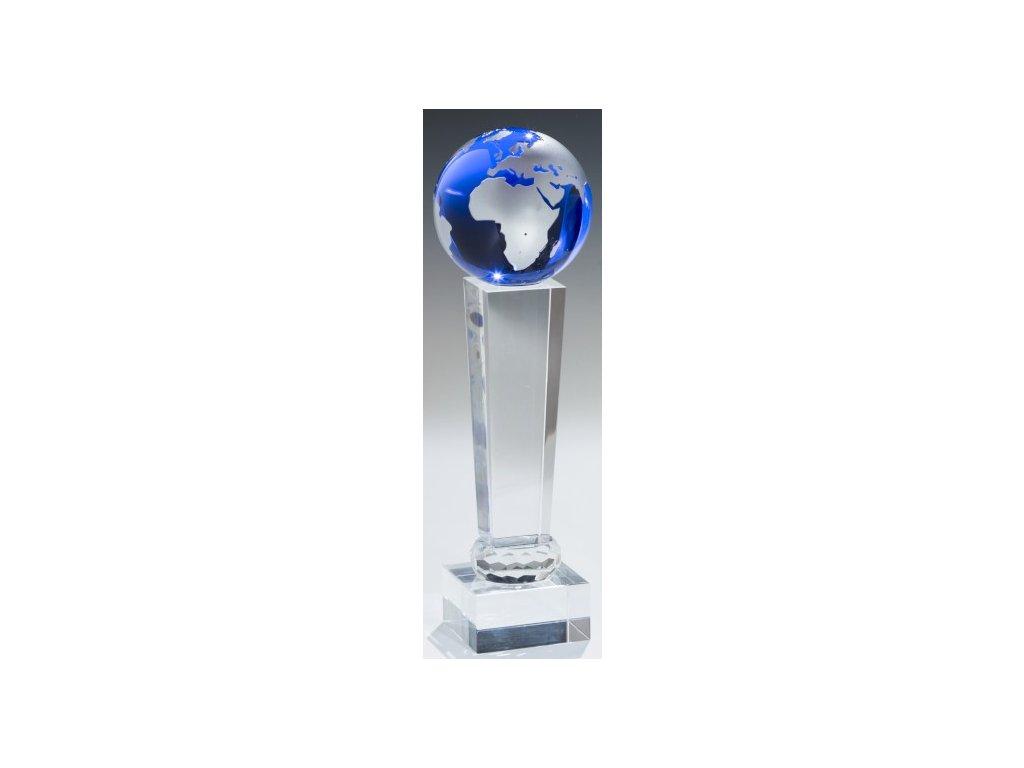 sklo - trofej 67918 + krabička,