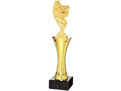 trofej - figúrka hokej 1122+F423 , h30,5cm