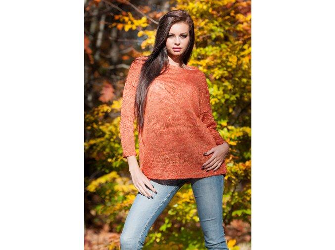 Dámský svetr Keri Pomeranč
