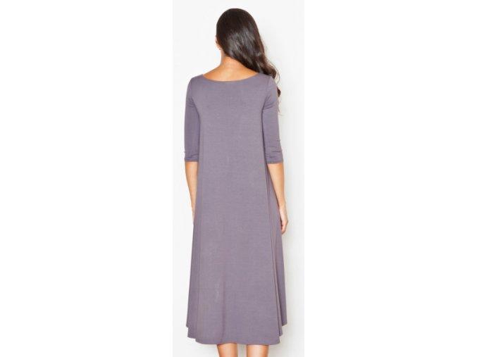 Dámské šaty Figl M392 Tmavě šedá
