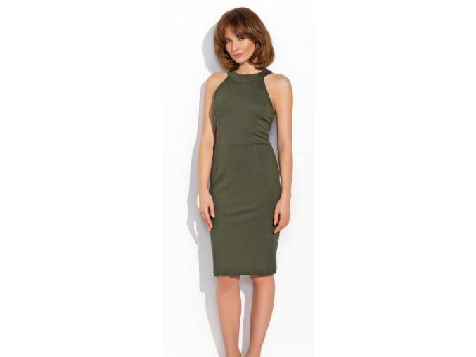Dámské šaty Numinou NU17 Khaki