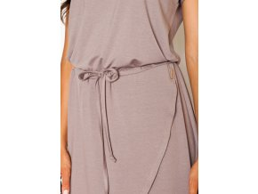 Dámské šaty Figl M394 Světle růžová
